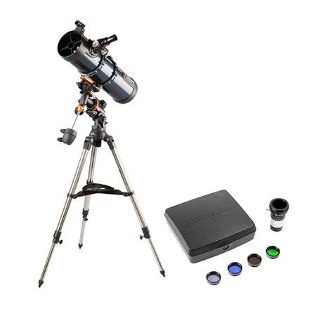 Celestron AstroMaster 130EQ Newtonian Telescope-Deluxe (Celestron 4 1 2 Newtonian Telescope 910mm Manual)