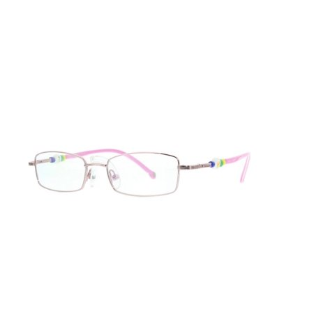 21376c9ad310 Eye Buy Express Kids Childrens Reading Glasses Pink Rectangular Rounded  Anti Glare grade d5341 - Walmart.com