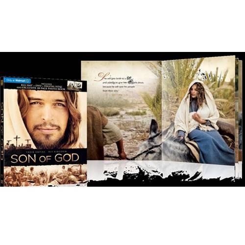 Son Of God (Blu-ray + DVD + Digital HD + Book) (Walmart Exclusive) (With INSTAWATCH) (Widescreen)