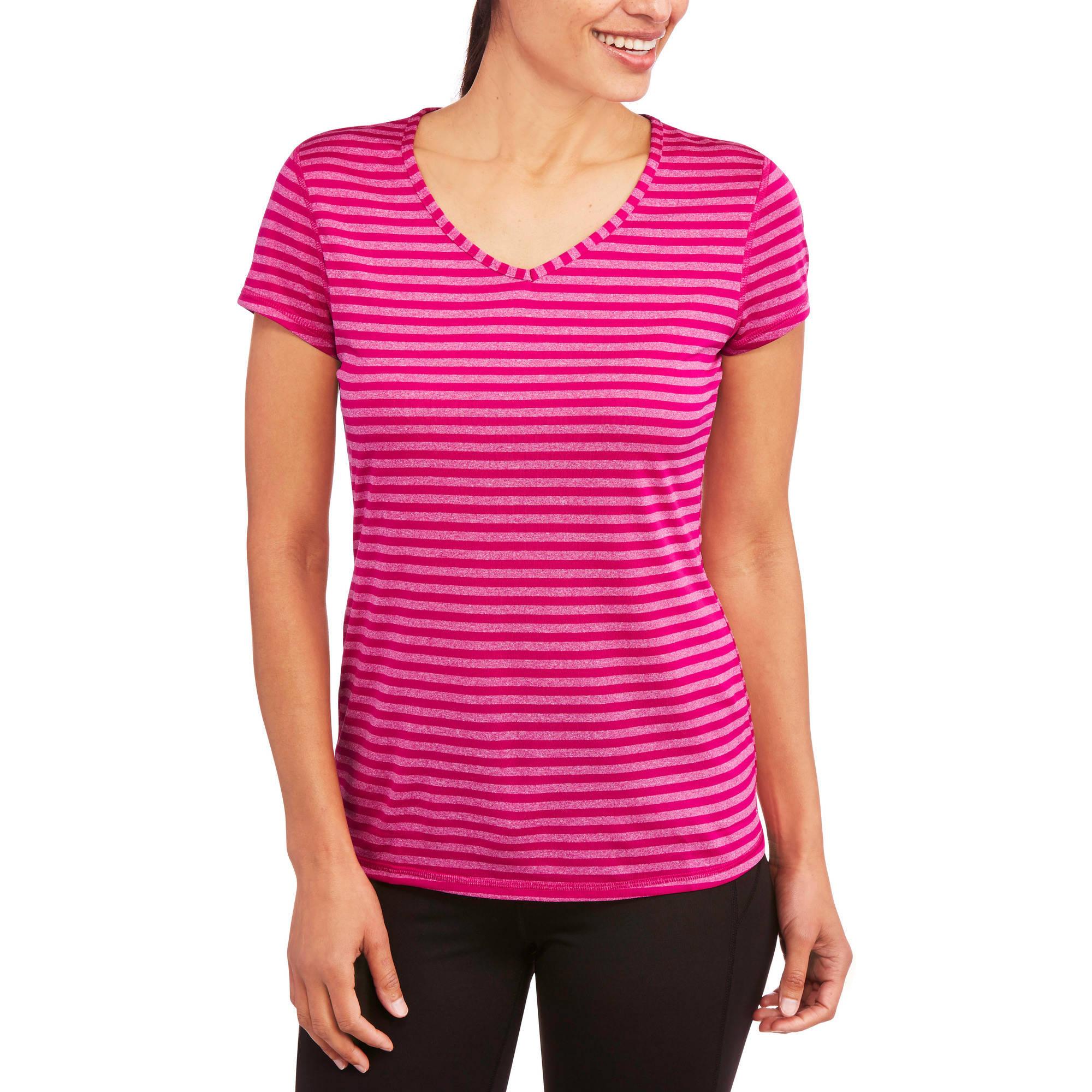 Women's Stripe V-Neck T-Shirt