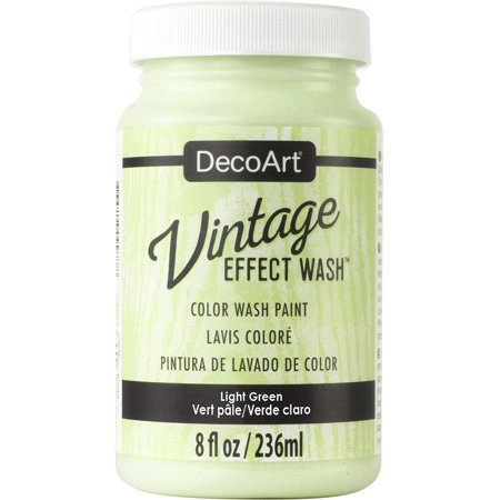 Decoart Vintage Effect Wash 8oz Light Green