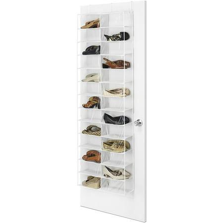 Whitmor Over The Door Shoe Shelves Clear