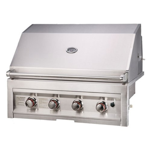 Sunstone Grills 4 Burner 34 In. Built-In Gas Grill