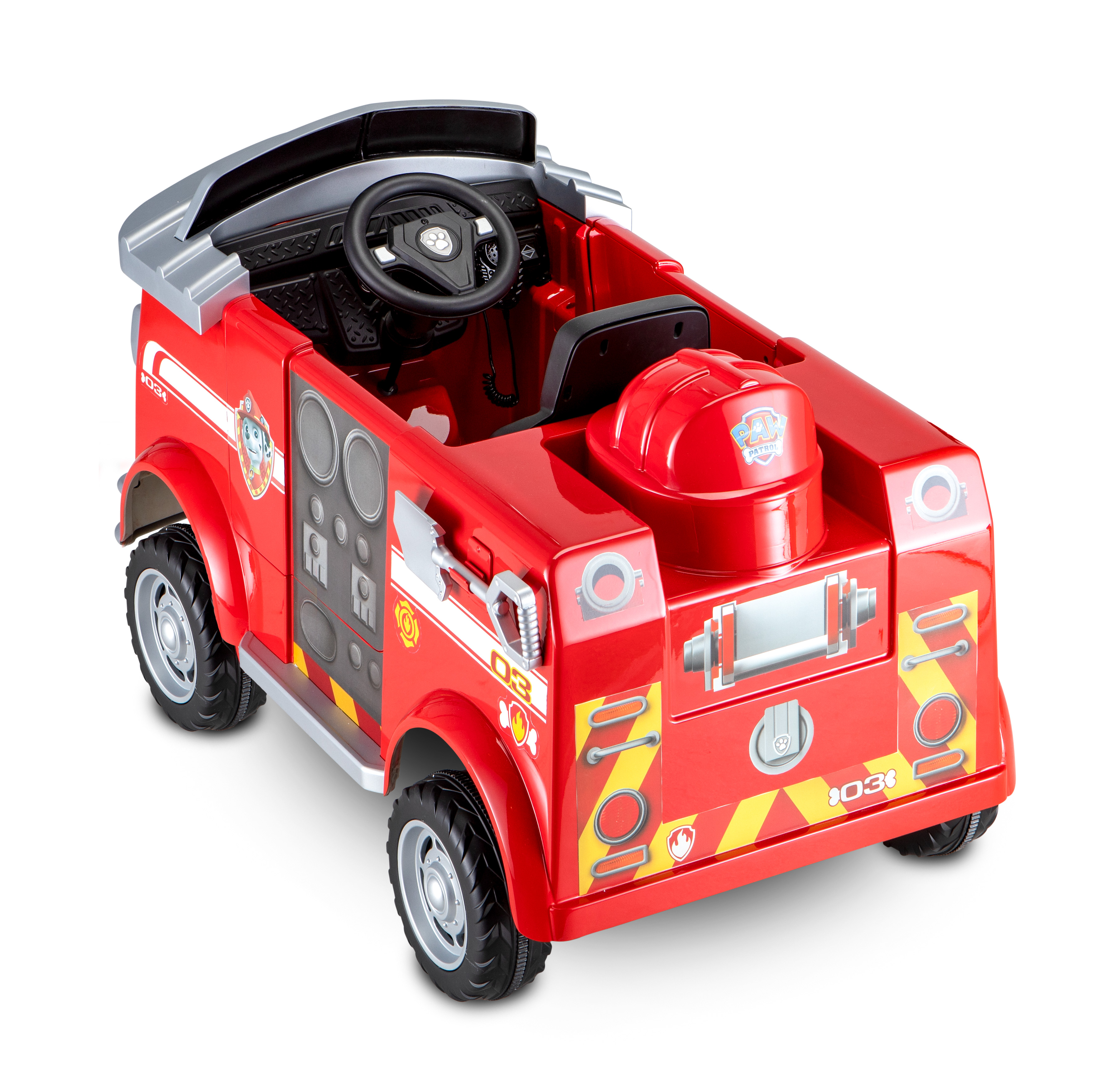 Paw Patrol Fire Truck 6 Volt powered Ride On Toy by Kid Trax