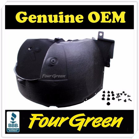 Genuine Fender Liner Front RIGHT Hyundai Genesis Sedan 11 12 13 14 (Front Fender Hyundai Accent)