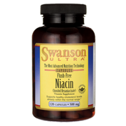 Swanson Flush-Free Niacin 500 mg 120 Caps