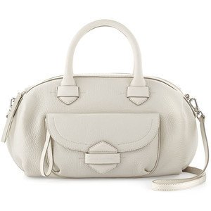 Marc By Marc Jacobs 'Half Pipe Duffel' Leather Satchel Lily Flower ()
