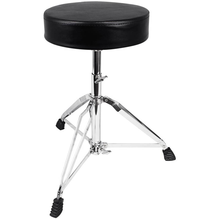 Rockville RDS30 Deluxe Thick-Padded Foldable Drum Throne by
