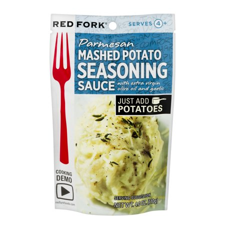 Red Fork Parmesan Mashed Potato Seasoning Sauce, 4.0 OZ