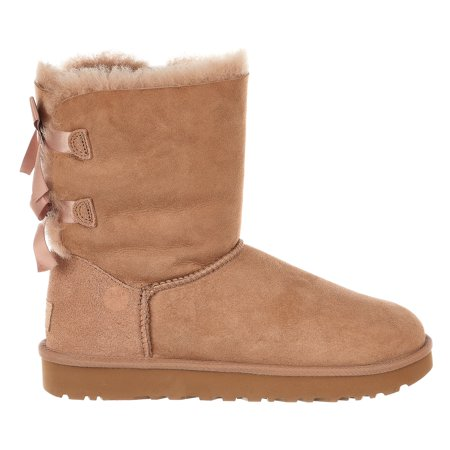UGG Australia Bailey Bow II Fashion Boot - Fawn - Womens - 8 - Bailey Bow Uggs For Girls