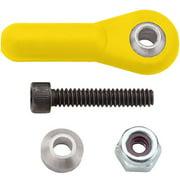 Heavy-Duty Ball Link, 4-40, Yellow, 2/Pk Multi-Colored