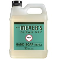 Deals on Mrs. Meyers Liquid Hand Soap Refill Basil Scent 33 Oz.