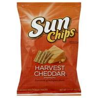 SunChips® Harvest Cheddar Flavored Whole Grain Snacks 1.5 oz. Bag