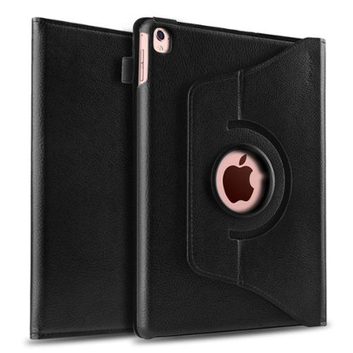 """iPad Pro Case, by Insten 360 Degree Rotating Stand Cover PU Leather Swivel Case For Apple iPad Pro 9.7"""" - Black"""