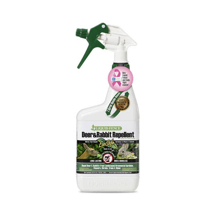 Liquid Fence Deer & Rabbit Repellant Ready-to-Use 32 oz