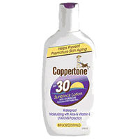 Coppertone Ultra Guard Sunscreen Lotion, Spf 30 - 8 Oz, 3 Pack