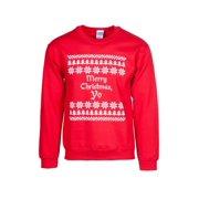 Mens Merry Christmas Yo Ugly Sweater