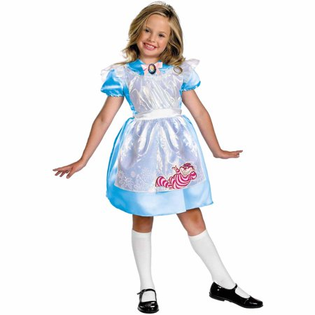 Alice Classic Child Halloween Costume - Alice And Wonderland Costumes Kids