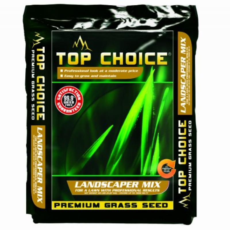 Top Choice 17624 3-Way Perennial Ryegrass Grass Seed Mixt...