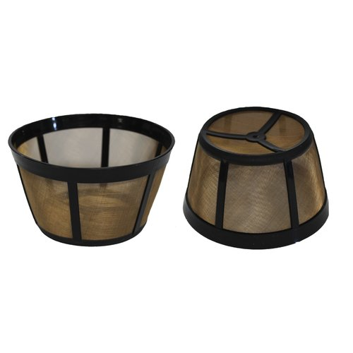 Crucial Replacement Basket Coffee Filter (Set of 2) by Crucial Vacuum
