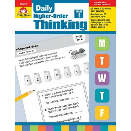 Evan-Moor EMC3271 Daily Higher-Order Thinking,