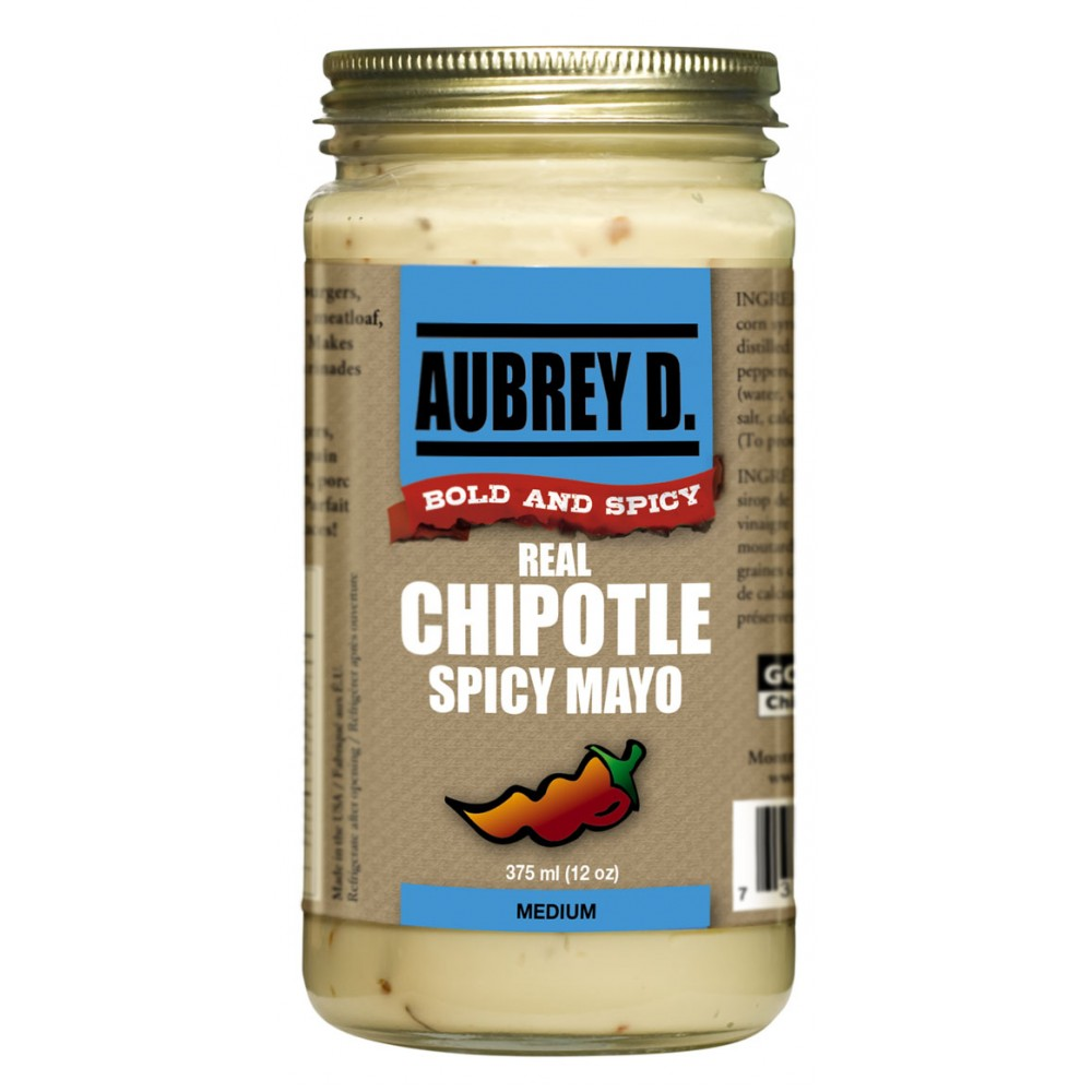 Aubrey D. Chipotle Real Mayo, 375ml by Supplier Generic