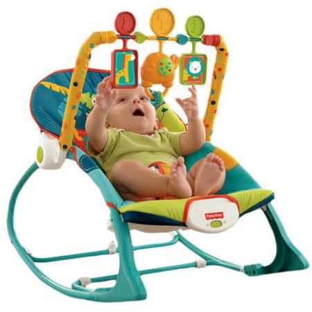 Fisher-Price Infant to Toddler Rocker Sleeper, Safari (My Little Snugamonkey Deluxe Rock N Play Sleeper)
