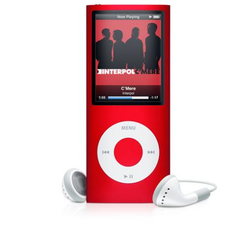 Apple iPod Nano 4th Genertion 8GB Red, Like New Condition!