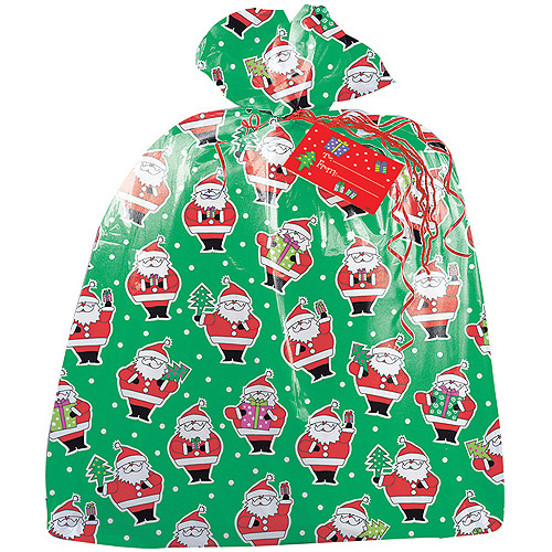 Jumbo Christmas Santa Claus Gift Bag