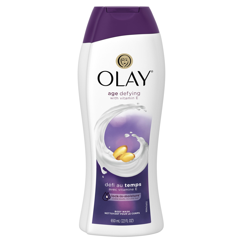Olay Age Defying with Vitamin E Body Wash, 22 oz