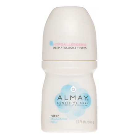 Almay Roll-On Deodorant, Fragrance-Free, 1.7 Oz ()