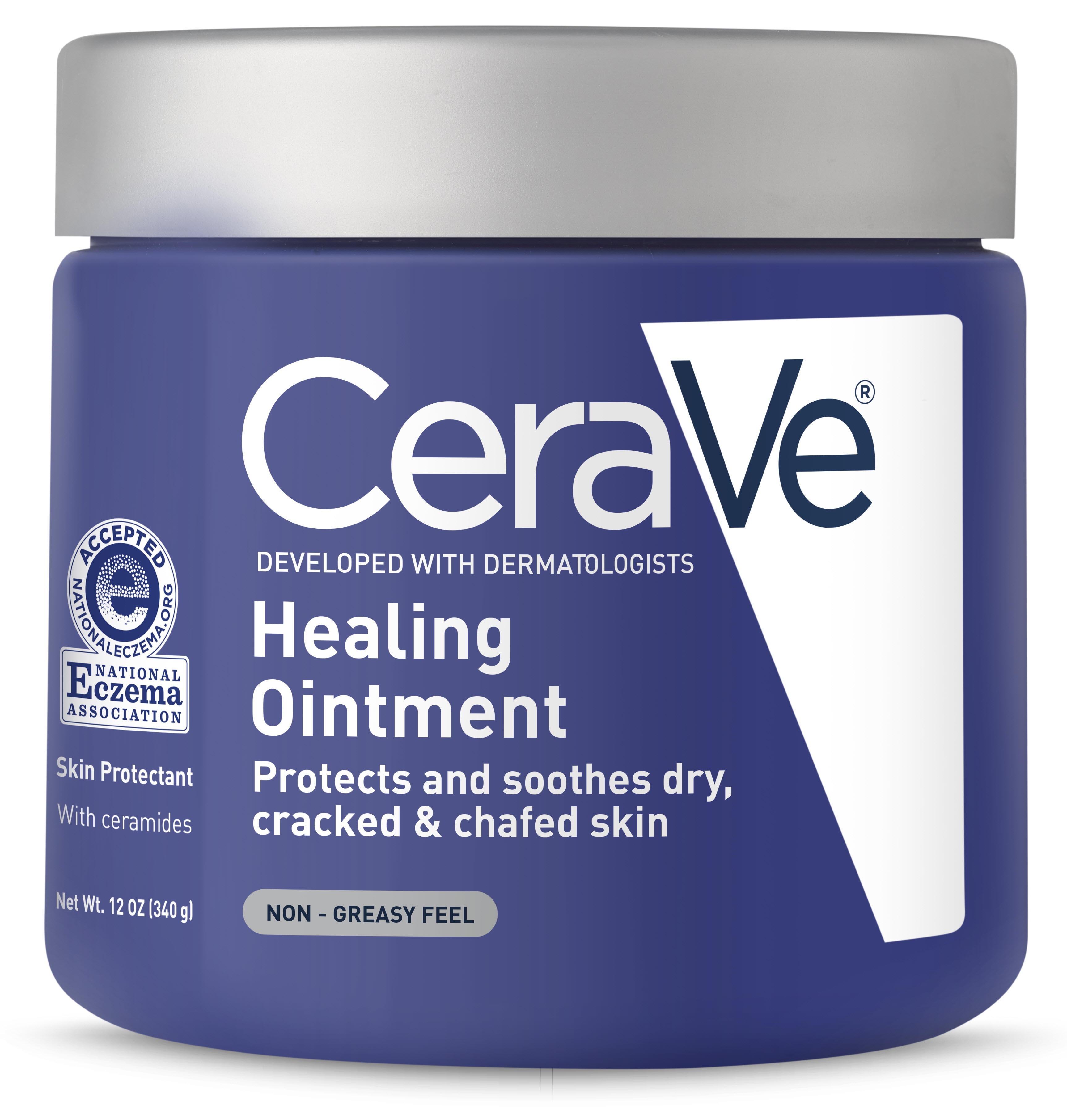 Cerave Healing Ointment Protects And Soothes Ed Skin 12 Oz