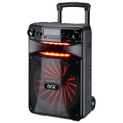QFX PBX-1210 12 in. Smart App Controlled Party Speaker with New Light Effects