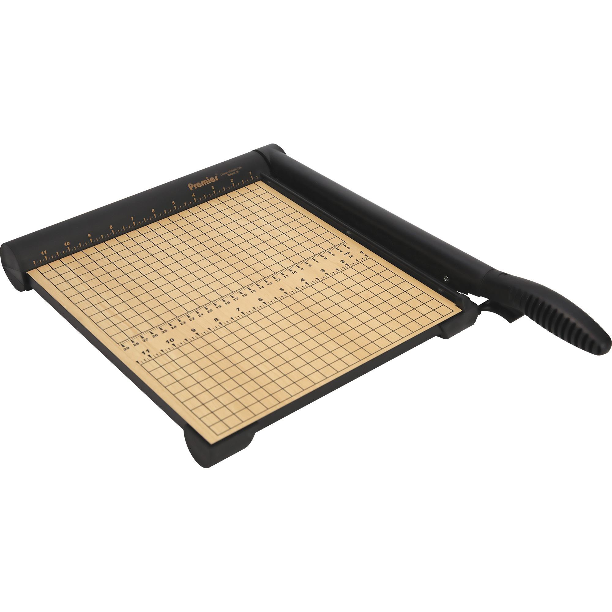Premier, PRET12, Sharpcut Paper Trimmers, 1 / Each, Wood Grain,Maple