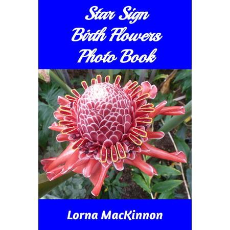 Star Sign Birth Flowers Photo Book - eBook