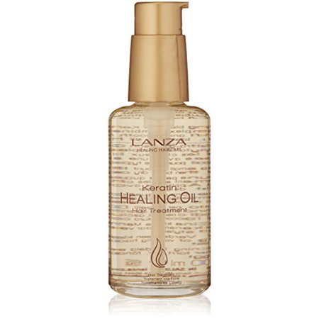 L'anza Keratin Healing Oil Hair Treatment, 3.4 Oz (Best Permanent Hair Straightening Treatment)