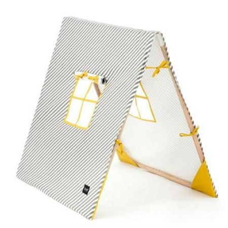 ferm living 9306 tents kids tent grey 100x100cm. Black Bedroom Furniture Sets. Home Design Ideas