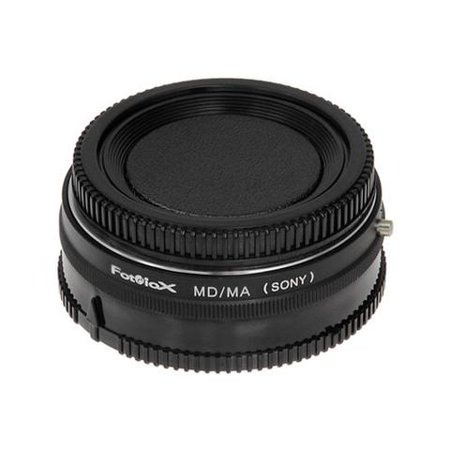 Fotodiox Pro Lens Mount Adapter - Minolta Rokkor (SR / MD / MC) SLR Lens to Sony Alpha A-Mount (and Minolta AF) Mount SLR Camera Body - Minolta Md Mount Lens