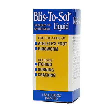 Blis-To-Sol Athletes Foot And Ringworm Antifungal Liquid - 1.85