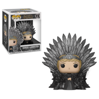 Funko POP! Deluxe: GOT S10 - Cersei Lannister Sitting on Iron Throne