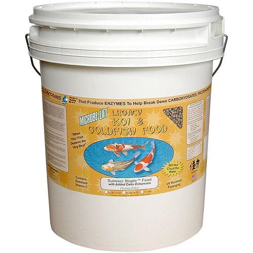 Microbe Lift MLLSSXL 17 Lb Summer Staple Fish Food