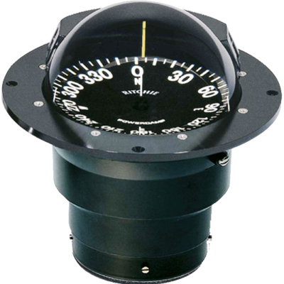 "RITCHIE COMPASSES FB-500-5N12 Compass, Flush Mount, 5"" Dial, Black by RITCHIE COMPASSES"