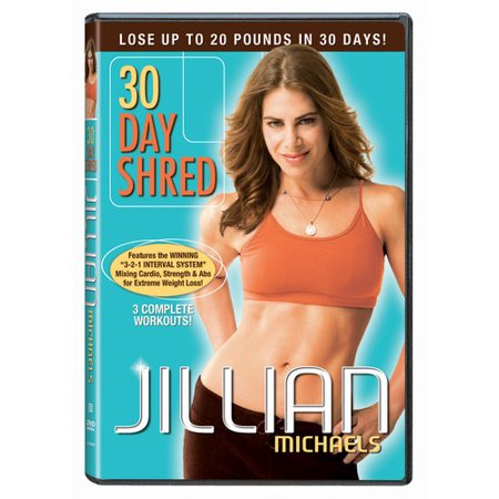 Jillian Michaels: 30 Day Shred (DVD) (Jillian Michaels Ripped In 30 Level 2)