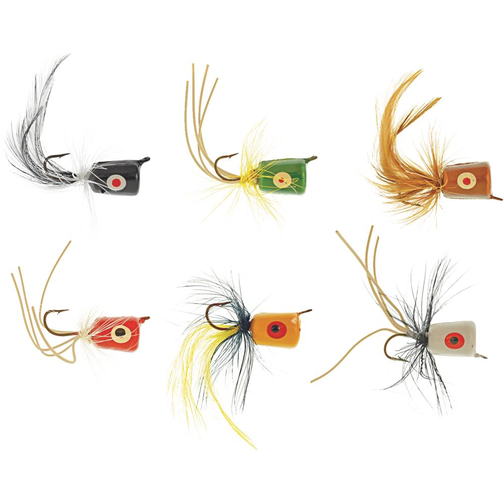 South Bend Sporting Goods 6 Pack Assorted Poppers SBPOP6