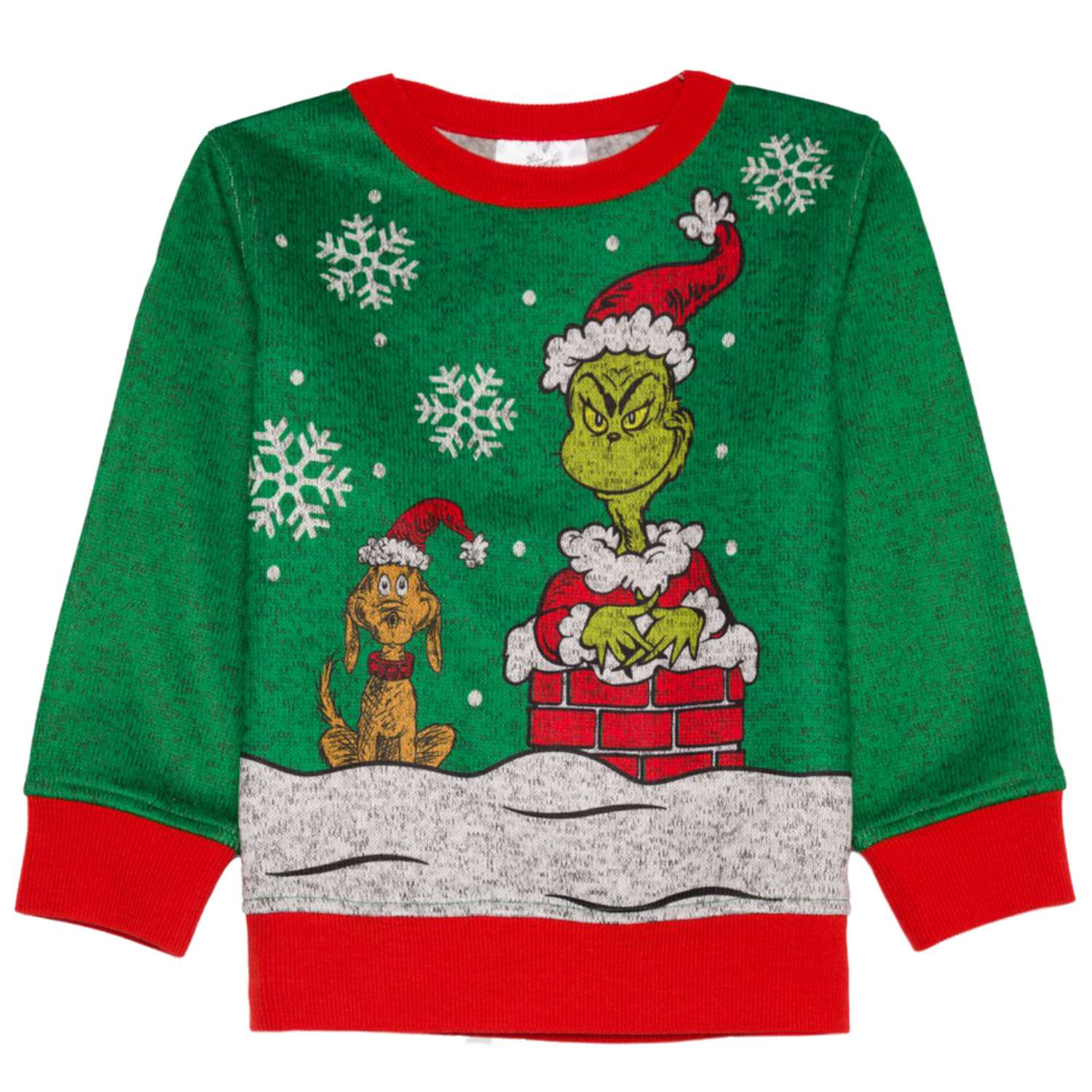 Disney Toddler Boys Green Grinch That