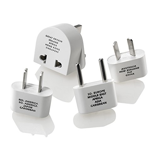 Voltage Converters & Adapters Electrical Distribution Converter (M500ENR), Includes 4 polarized plugs: NW-1C, NW-2C, NW-3C, NW-10C, and NW-135C By Travel Smart Ship from US
