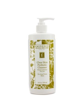 Eminence Organic Skin Care Clear Skin Probiotic Facial Cleanser, Face Wash for All Skin Types, 8.4 Oz
