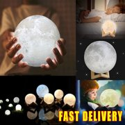 Hearty Jewelry Set 12cm 3d Moon Light Led Electronic Glow Luminous Moonlight Lamp Gift For Kitchen Dining Bar Table Decoration Soy Luna Jewelry & Accessories