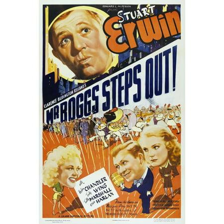 Mr Boggs Steps Out Us Poster Art Top Stuart Erwin Bottom From Left Toby Wing Stuart Erwin Helen Chandler 1938 Movie Poster Masterprint (Mr Pjs Wings)