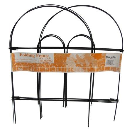 Folding Garden Fence - Glamos Wire 18 x 10 Garden Fence - 12 Pack